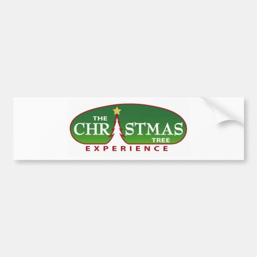 The Christmas Tree Experience Car Bumper Sticker