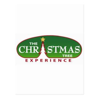 The Christmas Tree Experience Postcard