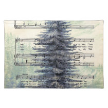 THE CHRISTMAS TREE.jpg Cloth Placemat