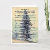 THE CHRISTMAS TREE.jpg Holiday Card