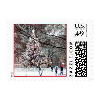 'The Christmas Tree' Postage