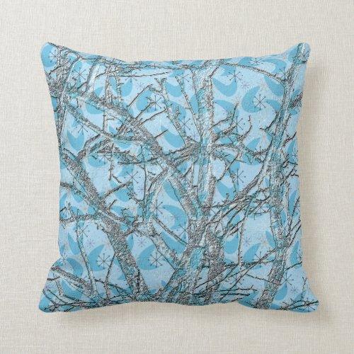 Blue Christmas Throw Pillows WebNuggetz.com
