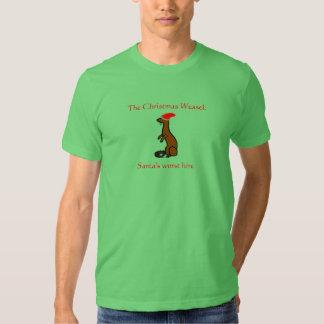 The Christmas Weasel Shirts