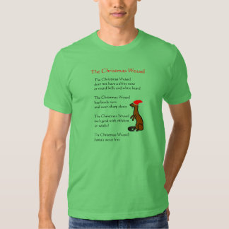 The Christmas Weasel T-shirts