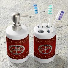 The Christogram Bathroom Set