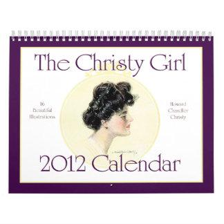 The Christy Girl 2012 Calendar Howard C. Christy