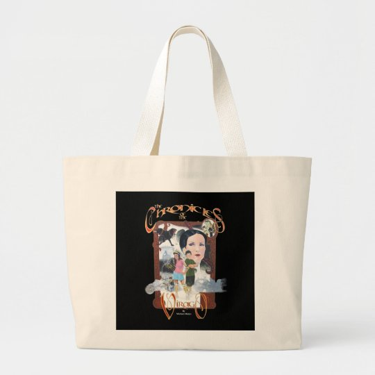 The Chronicles of the Virago Large Tote Bag