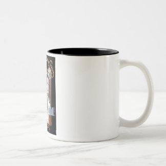 The Chronicles of the Virago Two-Tone Coffee Mug
