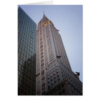 The Chrysler Building at Dusk, New York City Card