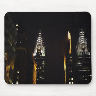 The Chrysler Building at Night, New York City Mouse Pad