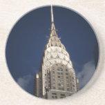 The Chrysler Building, Midtown, New York City Beverage Coaster