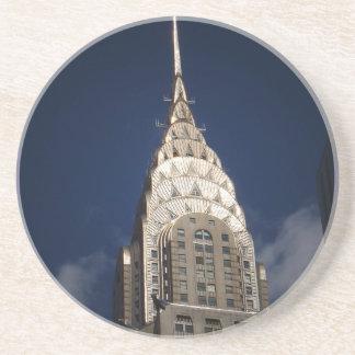 The Chrysler Building, Midtown, New York City Drink Coaster