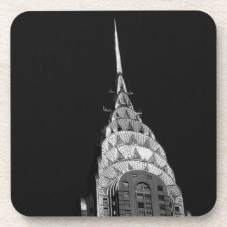 The Chrysler Building - New York City Beverage Coaster