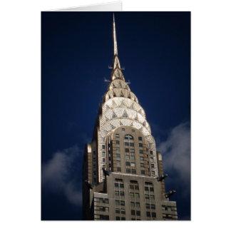 The Chrysler Building, New York City Card