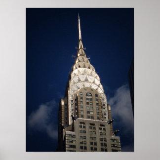 The Chrysler Building, New York City, Medium Poster