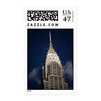 The Chrysler Building, New York City Postage