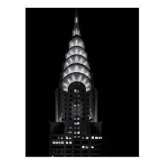 The Chrysler building postcard