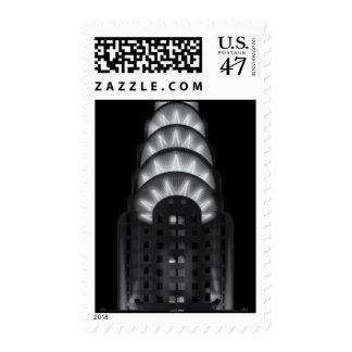 The Chrysler building stamp