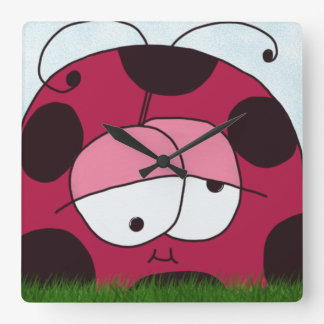 The Chubby Ladybug Clock