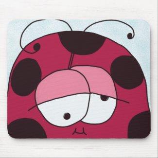 The Chubby Ladybug Mousepad