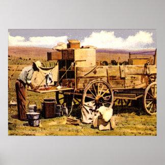 The Chuck wagon Print