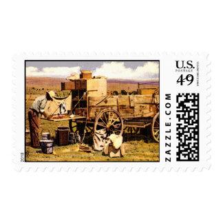 The Chuck wagon Stamp