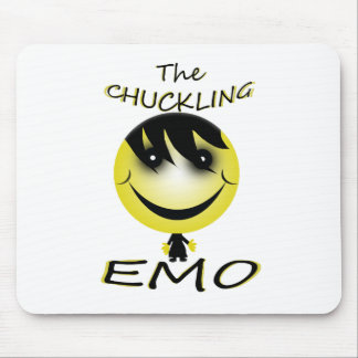 the chuckling emo mouse pad