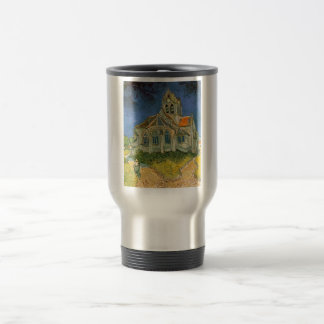 The Church at Auver by Vincent Van Gogh 15 Oz Stainless Steel Travel Mug