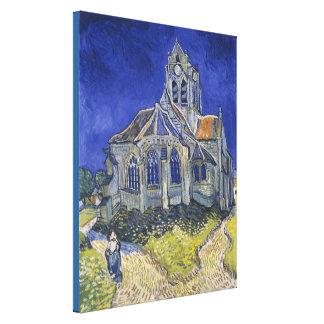 The Church at Auvers Canvas Print