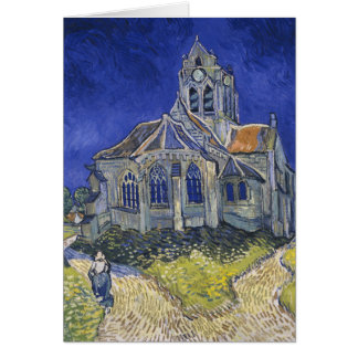 The Church at Auvers Card