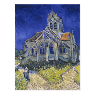 The Church at Auvers Postcard