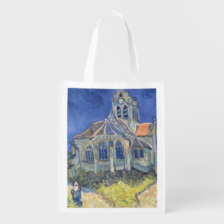 The Church at Auvers-sur-Oise Grocery Bag
