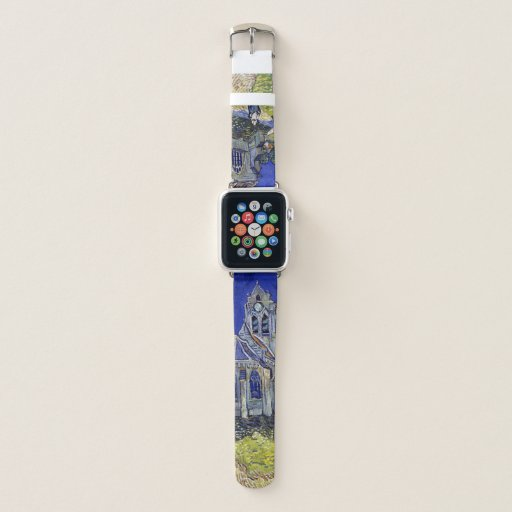 The Church at Auvers, Van Gogh Apple Watch Band