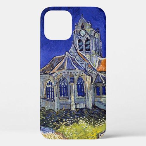 The Church at Auvers, Van Gogh Phone Case