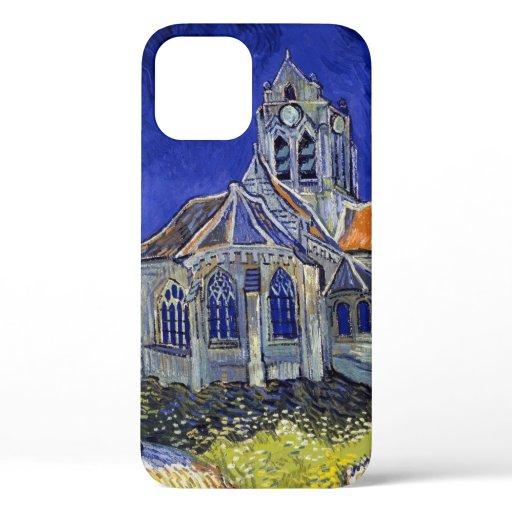 The Church at Auvers, Van Gogh iPhone 12 Case