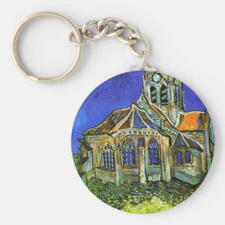 The Church at Auvers, Van Gogh Keychains