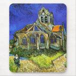 The Church at Auvers, Van Gogh Mousepads