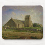 The Church at Greville, c.1871-74 Mouse Pad