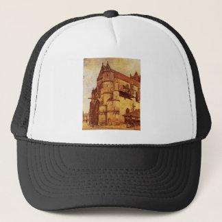 The Church at Moret, Rainy Morning Alfred Sisley Trucker Hat