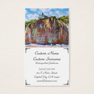 The Church at Varengeville, 1882 Claude Monet cool Business Card