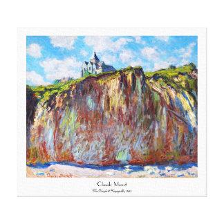 The Church at Varengeville, 1882 Claude Monet cool Canvas Print