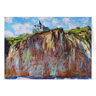 The Church at Varengeville, 1882 Claude Monet cool Card