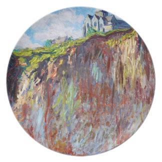 The Church at Varengeville, 1882 Claude Monet cool Melamine Plate
