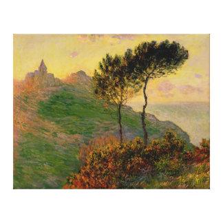 The Church at Varengeville, by Claude Monet Canvas Print