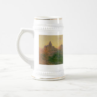 The Church at Varengeville - Claude Monet Beer Stein
