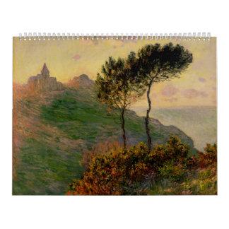 The Church at Varengeville - Claude Monet Calendar