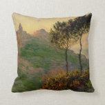 The Church at Varengeville - Claude Monet Pillows