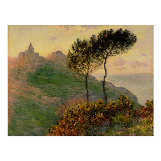 The Church at Varengeville - Claude Monet Postcard