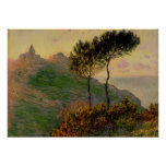 The Church at Varengeville - Claude Monet Poster
