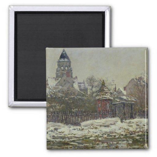 The Church at Vetheuil, 1879 Fridge Magnet